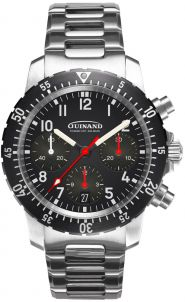 Guinand Flieger Chrono FR mit Metallband