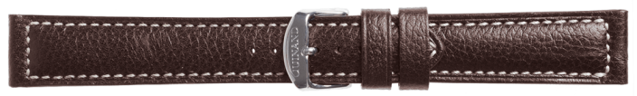 Leather Strap Kalbsleder dark brown