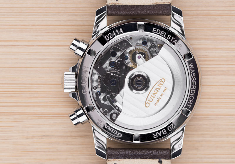 Guinand Chrono Panda Monte•Carlo movement