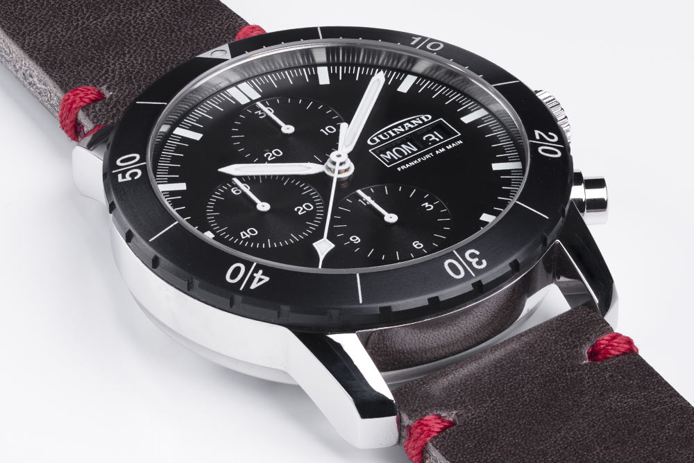 Guinand Pilot Chrono 42 Housing - left side